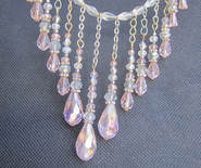 delicate baby pink crystal chokerPicture